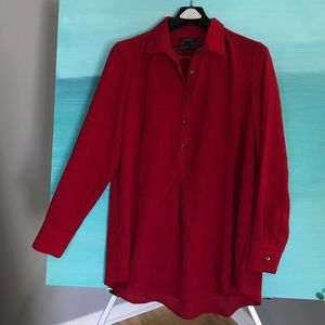 Lands End Tunic Top Large